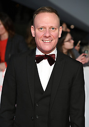 Antony Cotton attending the National Television Awards 2018 held at the O2, London. Photo credit should read: Doug Peters/EMPICS Entertainment