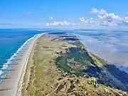 Nederland, Friesland, Vlieland, 07-05-2021; West-Vlieland met Hotel Posthuys Vlieland (Posthuis).<br /> <br /> luchtfoto (toeslag op standard tarieven);<br /> aerial photo (additional fee required)<br /> copyright © 2021 foto/photo Siebe Swart