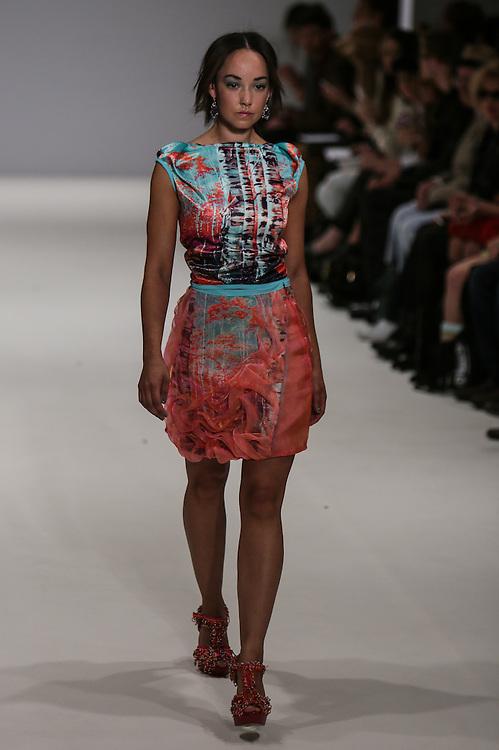 Nova Chiu show during London Fashion Week, Spring/Summer 2013