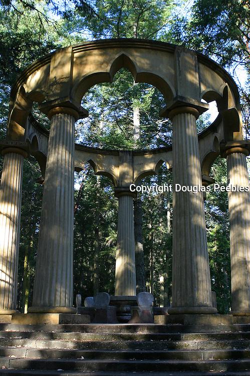 Mausoleum, Roche Harbor, San Juan Island, Washington<br />