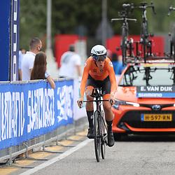 26-09-2020: wielrennen: WK weg vrouwen: Imola<br /> Ellen van Dijk (Netherlands) bronze medal