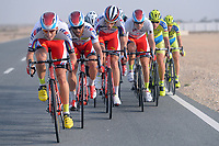 BYSTROM Sven Erik (NOR)/ PAOLINI Luca (ITA)/ SMUKULIS Gatis (LAT)/ KRISTOFF Alexander (NOR) Grey Sprint Jersey / BODNAR Maciej (POL) during the 14th Tour of Qatar 2015, Stage 5, Al Zubarah Fort - Madinat Al Shamal (153Km), on February 12, 2015. Photo Tim de Waele / DPPI