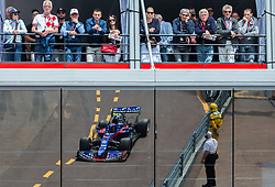 May 25, 2019 - Montecarlo, Monaco - Alexander Albon of Thailand and Toro Rosso driver goes during the qualification session at Formula 1 Grand Prix de Monaco on May 25, 2019 in Monte Carlo, Monaco. (Credit Image: © Robert Szaniszlo/NurPhoto via ZUMA Press)