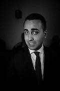 Luigi Di Maio. Press conference about the results of the municipalities runned by Movement 5 Stars. Rome 8 february 2017. Christian Mantuano / OneShot