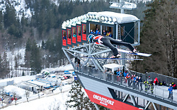 02.02.2019, Heini Klopfer Skiflugschanze, Oberstdorf, GER, FIS Weltcup Skiflug, Oberstdorf, Training, im Bild Andreas Alamommo (FIN) // Andreas Alamommo of Finland during his Practice Jump of FIS Ski Jumping World Cup at the Heini Klopfer Skiflugschanze in Oberstdorf, Germany on 2019/02/02. EXPA Pictures © 2019, PhotoCredit: EXPA/ Peter Rinderer