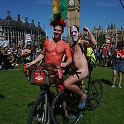 World Naked Bike Ride, London, UK