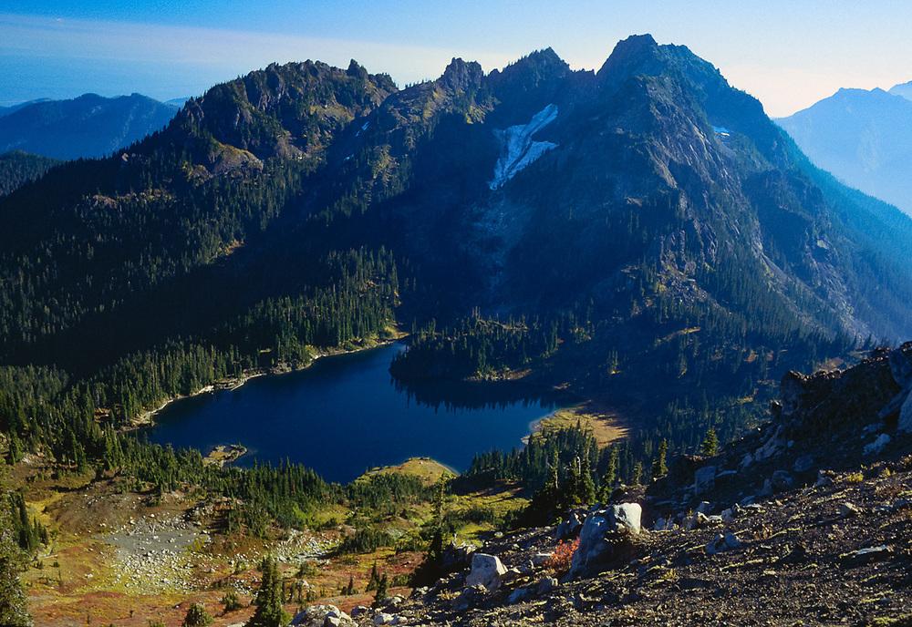 Upper Lena Lake, Olympic National Park, Washington, USA