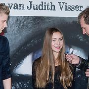NLD/Anjum /20131211 - Persdag speelfilm Stuk, acteurs Leo de Jong (L) en Elodie Hooftman