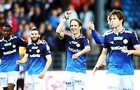 Fotball , 29. juni 2013 , Tippeligaen , Eliteserien , Strømsgodset - Tromsø 3-1<br /> Stefan Johansen , SIF<br /> trener Ronny Deila , SIF<br /> Lars Christofer Vilsvik , (th)<br />  Abdisalam Ibrahim (tv), SIF<br /> Mounir Hamoud ,