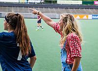 AMSTELVEEN - Willem de Zwijger College uit Bussum, wint Meisjes jong van Bonaventura Leiden . NK Schoolhockey 2019 , COPYRIGHT  KOEN SUYK