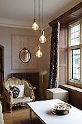 The Snug, Pickwell Manor, Georgeham, North Devon, UK.<br /> CREDIT: Vanessa Berberian for The Wall Street Journal<br /> HOUSESHARE