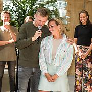 NLD/Utrecht/20190814 - Bekendmaking 6 deelnemers Expeditie Robinson 2019, Kaj Gorgels en Fien Vermeulen