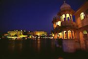 Lake Palace at night