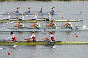 Eton. Great Britain.AUS JW4-, FISA Junior  World Rowing Championships. Dorney Lake, Nr Windsor. Friday, 05/08/2011 [Mandatory credit: Intersport Images]