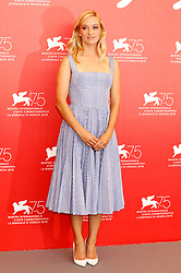 August 29, 2018 - Venice, Venetien, Italy - Olivia Hamilton during the 'First Man' photocall at the 75th Venice International Film Festival at the Palazzo del Casino on August 29, 2018 in Venice, Italy (Credit Image: © Future-Image via ZUMA Press)