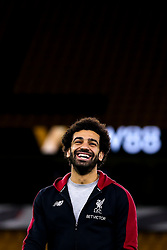 Mohamed Salah of Liverpool - Mandatory by-line: Robbie Stephenson/JMP - 07/01/2019 - FOOTBALL - Molineux - Wolverhampton, England - Wolverhampton Wanderers v Liverpool - Emirates FA Cup third round proper