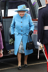 September 4, 2017 - North Queensferry, United Kingdom - Image licensed to i-Images Picture Agency. 04/09/2017. North Queensferry , United Kingdom. The Queen and Duke of Edinburgh at the opening of the Queensferry Crossing which spans the Firth of Forth in Scotland, United Kingdom. Picture by Stephen Lock / i-Images. (Credit Image: © Stephen Lock/i-Images via ZUMA Press)