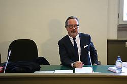 """Mündliche Verhandlung über die Unterlassungsklage des türkischen Präsidenten Erdogan gegen Böhmermann vor dem Hamburger Oberlandesgericht: Der Anwalt Christian Schertz<br /> <br /> / 021116<br /> <br /> *** Private prosecution trial Erdogan vs. Boehmermann for an """"insulting"""" poem at the Hamburg court; November 2nd, 2016 ***"""