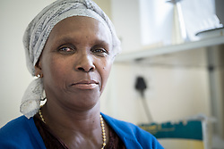 2 March 2017, Ma Mafefooane Valley, Lesotho: Clementina is a patient at Saint's Joseph's Hospital. Saint Joseph's Hospital is a district hospital in the Ma Mafefooane Valley in Lesotho. The hospital was established in 1937 and is run as a Roman Catholic non-profit institution by the Christian Health Association of Lesotho. As a district hospital, it offers comprehensive healthcare including male, female, paediatric, Tuberculosis and maternity care. It is closely linked with the neighbouring Roma College of Nursing, which runs on similar premises as part of the same institution. Drug supplies are secured to the hospital by means of a Memorandum of Understanding with the government.