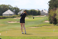 Anna Dawson on the 18th during Round 1 of the Irish Girls Close Championship at Galway Golf Club, Salthill, Galway, Ireland. 16/07/19 <br /> Picture:  Thos Caffrey / www.golffile.ie<br /> <br /> All photos usage must carry mandatory copyright credit  (© Golffile | Thos Caffrey)