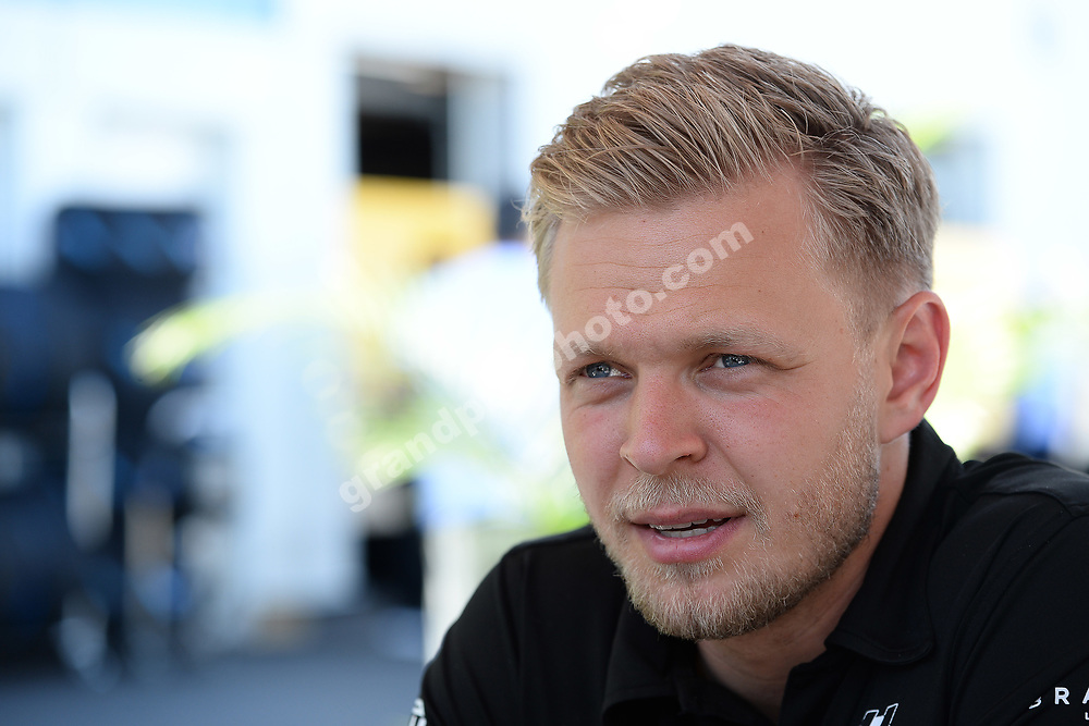 Kevin Magnussen (Haas-Ferrari) before the 2019 Canadian Grand Prix in Montreal. Photo: Grand Prix Photo