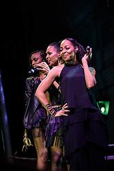 Terry Ellis, Cindy Braggs & Rhone Bennett, En Vogue. Cape Town Jazz Festival Free Community Concert, 29 March 2017. Greenmarket Square. Photo by Alec Smith/imagemundi.com