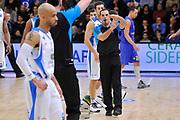 DESCRIZIONE : Eurocup 2014/15 Last 32 Gruppo H Dinamo Banco di Sardegna Sassari - Herbalife Gran Canaria Las Palmas<br /> GIOCATORE : Elias Koromilas<br /> CATEGORIA : Arbitro Referee<br /> SQUADRA : Arbitro Referee<br /> EVENTO : Eurocup 2014/2015<br /> GARA : Dinamo Banco di Sardegna Sassari - Herbalife Gran Canaria Las Palmas<br /> DATA : 07/01/2015<br /> SPORT : Pallacanestro <br /> AUTORE : Agenzia Ciamillo-Castoria / Luigi Canu<br /> Galleria : Eurocup 2014/2015<br /> Fotonotizia : Eurocup 2014/15 Last 32 Gruppo H Dinamo Banco di Sardegna Sassari - Herbalife Gran Canaria Las Palmas<br /> Predefinita :