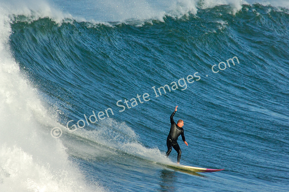 There are big days and then there are epic days. In December 2005 some of the largest surf to be seen in twenty years rolled into southern california. Sets to 30 feet.