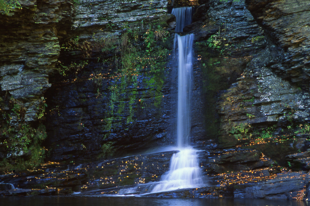 Delaware Water Gap National Natural Area, Dingman's Creek Waterfalls, Pike County, PA