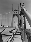 9969-0780. Study of the St. Johns Bridge. March 7, 1932.