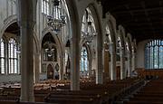 Interior of Holy Trinity Church, Long Melford, Suffolk, England, UK