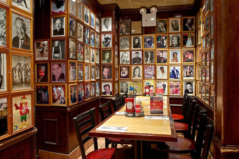 "Carnegie Deli's Private Room in their ""Flight Deck""."