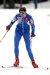 Slovenian cross-country skier Petra Majdic at Alpina presentation of new cross-country shoes with red dot award: product design, on April 24, 2008, in Pokljuka, Rudno polje, Slovenia.  (Photo by Vid Ponikvar / Sportal Images)/ Sportida)