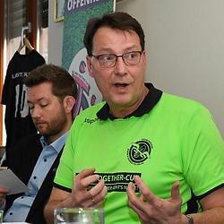 Andreas Stiene bei der Pressekonferenz zum 1. Come-Together-Cup Rhein Neckar.<br /> <br /> Foto © PIX-Sportfotos *** Foto ist honorarpflichtig! *** Auf Anfrage in hoeherer Qualitaet/Aufloesung. Belegexemplar erbeten. Veroeffentlichung ausschliesslich fuer journalistisch-publizistische Zwecke. For editorial use only.