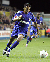 Photo:  Frances Leader.Digitalsport<br /> Millwall v Derby county. Coca-Cola championship league one. The Den.<br /> 22/09/2004<br /> Millwall's Pul Ifill who scored the third goal in the last minute of extra time bringing the score to 3-1.