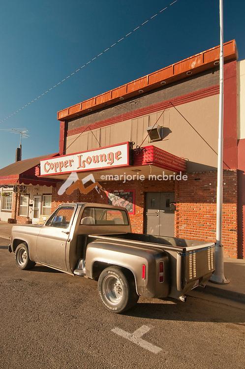 Lounge in downtown Weiser, Idaho.