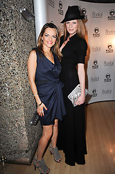 Left to right, Maria Hatzistefanis and OLIVIA INGE at The Rodial Beautiful Awards in aid of the charity Kids Company held in the Billiard Room at The Sanderson, 50 Berners Street, London on 3rd February 2010.