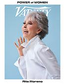 September 29, 2021 - WORLDWIDE: Rita Moreno Covers Variety Magazine Power of Women Issue
