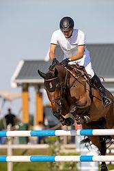 Houtzager Marc, NED, Sterrehof's Edinus<br /> Nederlands Kampioenschap Springen<br /> De Peelbergen - Kronenberg 2020<br /> © Hippo Foto - Dirk Caremans<br />  06/08/2020