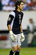 July 18 2009: Jaime Penedo of Panama during the game between USA and Panama. The United States defeated Panama 2-1 in added extra time in a CONCACAF Gold Cup quarter-final match at Lincoln Financial Field in Philadelphia, Pennsylvania.
