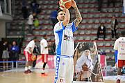 DESCRIZIONE : Beko Legabasket Serie A 2015- 2016 Dinamo Banco di Sardegna Sassari - Olimpia EA7 Emporio Armani Milano<br /> GIOCATORE : Brian Sacchetti<br /> CATEGORIA : Riscaldamento Before Pregame<br /> SQUADRA : Dinamo Banco di Sardegna Sassari<br /> EVENTO : Beko Legabasket Serie A 2015-2016<br /> GARA : Dinamo Banco di Sardegna Sassari - Olimpia EA7 Emporio Armani Milano<br /> DATA : 04/05/2016<br /> SPORT : Pallacanestro <br /> AUTORE : Agenzia Ciamillo-Castoria/C.AtzoriCastoria/C.Atzori