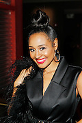 May 19, 2016-Brooklyn, NY: United States- Media Personality Janelle Snowden attends the 2nd Annual (Museum of Contemporary African Diasporic Art (MoCADA) Masquerade Ball held at the Brooklyn Academy of Music on May 19, 2016 in Brooklyn, New York. (Terrence Jennings/terrencejennngs.com)
