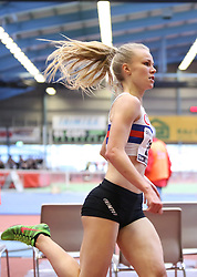 Josefine Rytter. Danske Mesterskaber indendørs i atletik 2017  i Spar Nord Arena, Skive, Denmark, 18.02.2017. Photo Credit: Allan Jensen/EVENTMEDIA.