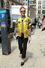 NY: Valentino fashion show - 23 May 2017