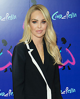 Katie Piper at the Gala Performance of Andrew Lloyd Webber's Cinderella  at the Gillian Lynne Theatre in Drury Lane, London, United Kingdom photo by terry Scott