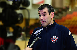 Bristol Flyers head coach, Andreas Kapoulas - Photo mandatory by-line: Alex James/JMP - 25/02/2018 - BASKETBALL - Plymouth Pavilions - Plymouth, England - Plymouth Raiders v Bristol Flyers - British Basketball League
