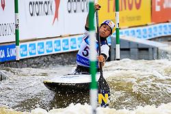 Wolffhardt Viktoria (AUT) competes in Finals during Day 2 of 2018 ECA Canoe Slalom European Championships, on June 2nd, 2018 in Troja , Prague, Czech Republic. Photo by Grega Valancic / Sportida