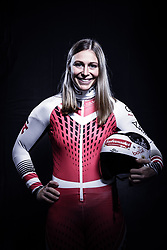12.10.2019, Olympiahalle, Innsbruck, AUT, FIS Weltcup Ski Alpin, im Bild Michaela Heider // during Outfitting of the Ski Austria Winter Collection and the official Austrian Ski Federation 2019/ 2020 Portrait Session at the Olympiahalle in Innsbruck, Austria on 2019/10/12. EXPA Pictures © 2020, PhotoCredit: EXPA/ JFK