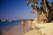 Couple on beach, Fiji