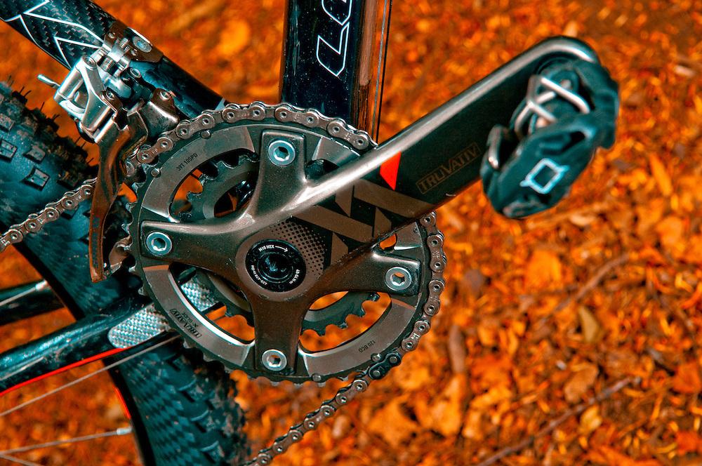 Oli Beckingsale's Look 986 carbon race bike